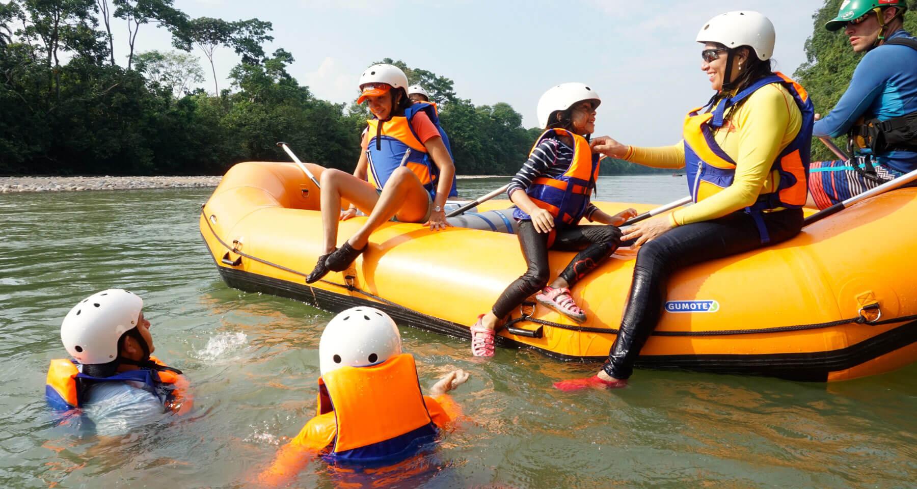 Familiar tour in Anzu River