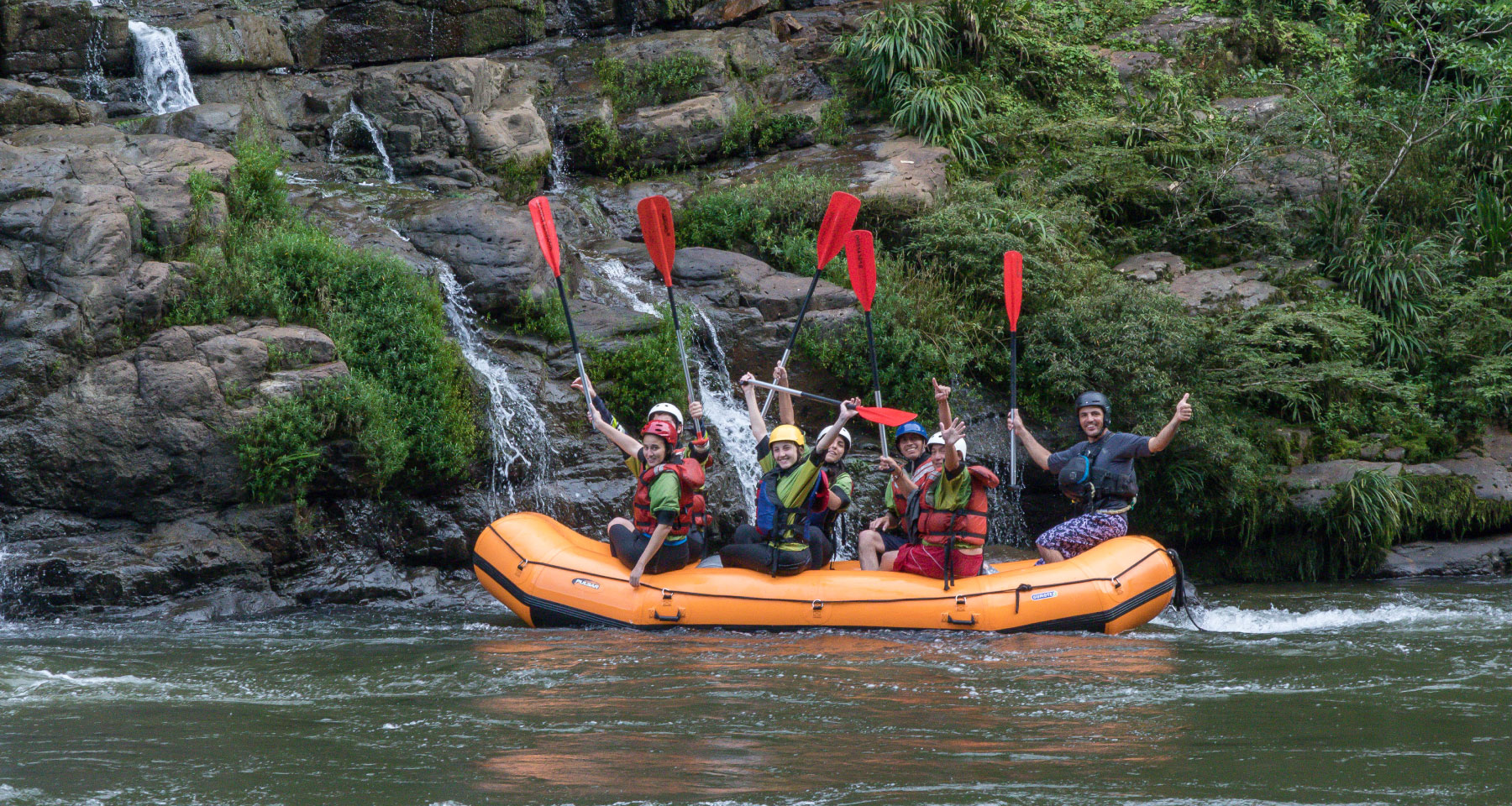 Rafting trip, 2 days in Napo, Tena. Ecuador in Southamerica